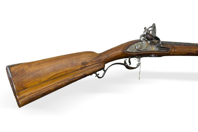 Arquebus. Miguel de Zegarra. Madrid, Spain, 1773-1774. In Good Condition For Sale In Madrid, ES