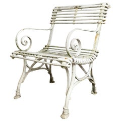 Arras Saint Sauveur Garden Chair, circa 1910