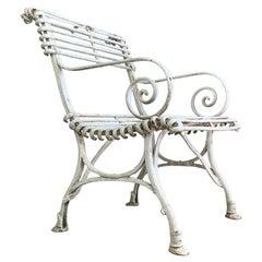 Arras Saint Sauveur Garden Chair, circa 1910