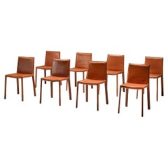 Arrben Italy Dining Chairs, Set of 8