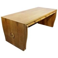 Arredamenti Osvaldo Borsani Varedo Atelier Table Desk Walnut Italy 1930s Deco