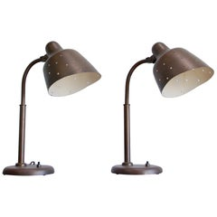 Arredoluce Attributed Star Table Lamps