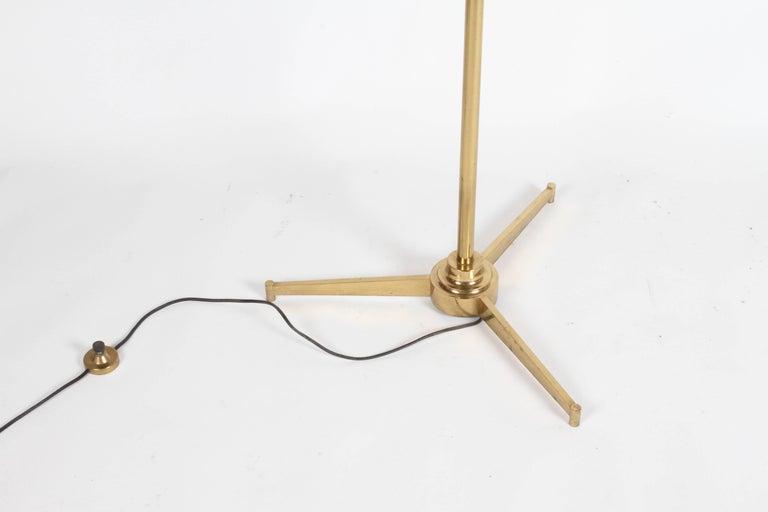 Arredoluce Brass Art Easel with Lamp by Angelo Lelli For Sale 5