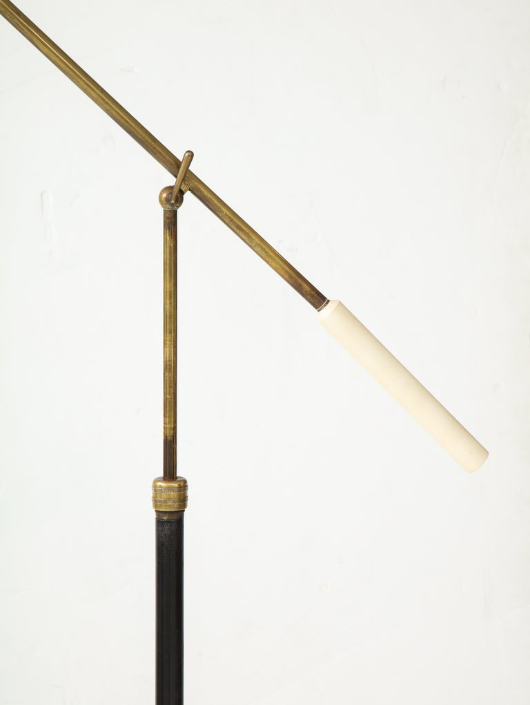 Arredoluce Rare Floor Lamp In Good Condition For Sale In Chappaqua, NY