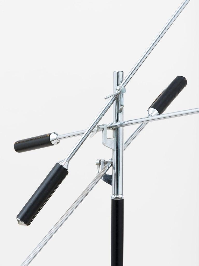 Mid-20th Century Arredoluce Three-Arm Floor Lamp For Sale