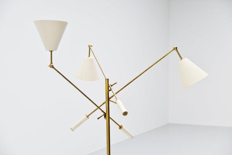 Arredoluce Triennale Floor Lamp Angelo Lelli, Italy, 1947 For Sale 2