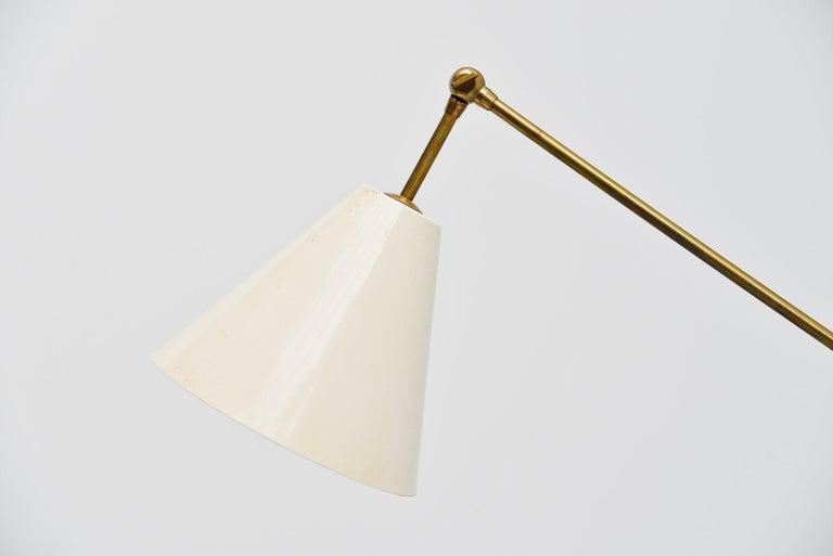 Mid-Century Modern Arredoluce Triennale Floor Lamp Angelo Lelli, Italy, 1947 For Sale