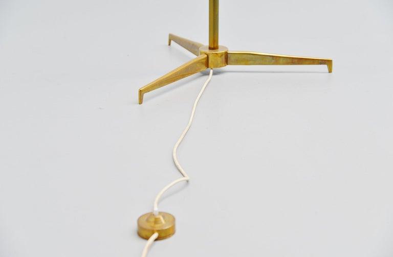 Arredoluce Triennale Floor Lamp Angelo Lelli, Italy, 1947 In Good Condition For Sale In Roosendaal, Noord Brabant
