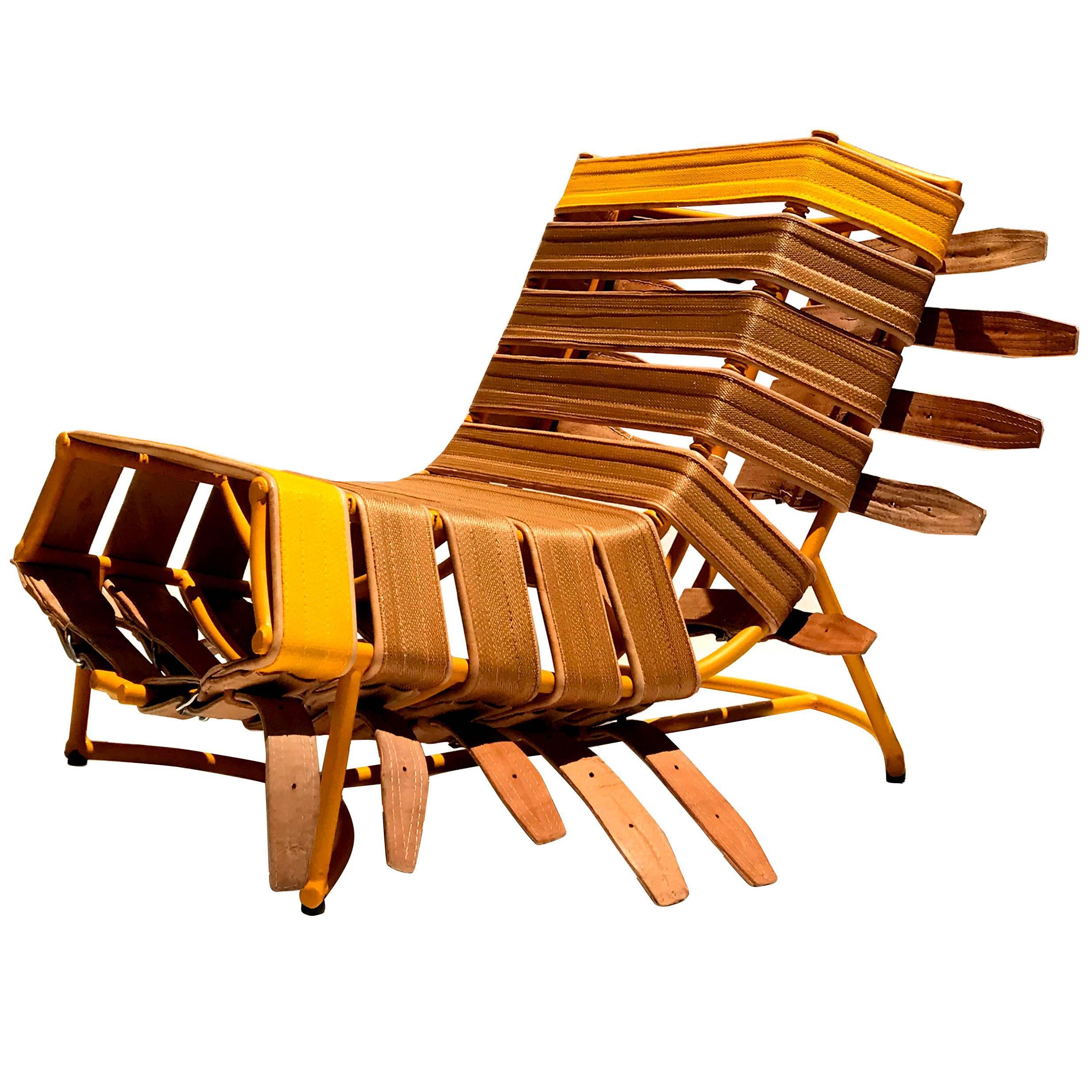 """Arreio"" Armchair, Contemporary Brazilian Design"
