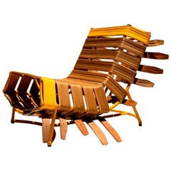 """Arreio"" Lounge Chair, Contemporary Brazilian Design"