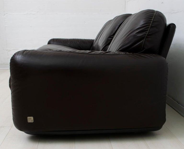 Arrigoni Arrigo Modern Italian Genuine Leather Sofa