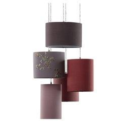 Arrossire Five-Light Pendant Lamp