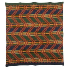 Arrowhead Motif Indian Camp Blanket