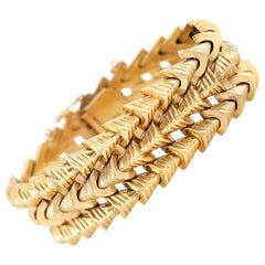 Arrows Gold Bracelet