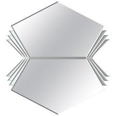 Arrows Wide Double Mirror by Ongaro e Fuga, Murano