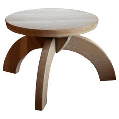 Arroyo Seco Bleached White Oak Side Table