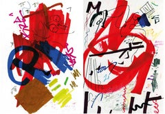 Untitled 31 and Untitled 1, set from the series of Public on Paper