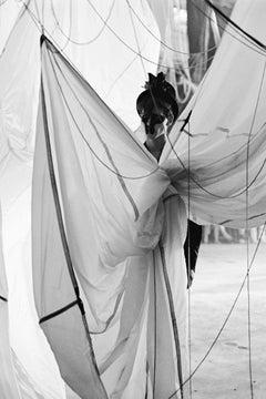 Untitled 71 (Alexander McQueen), 2006, Small, Black & White Archival Print