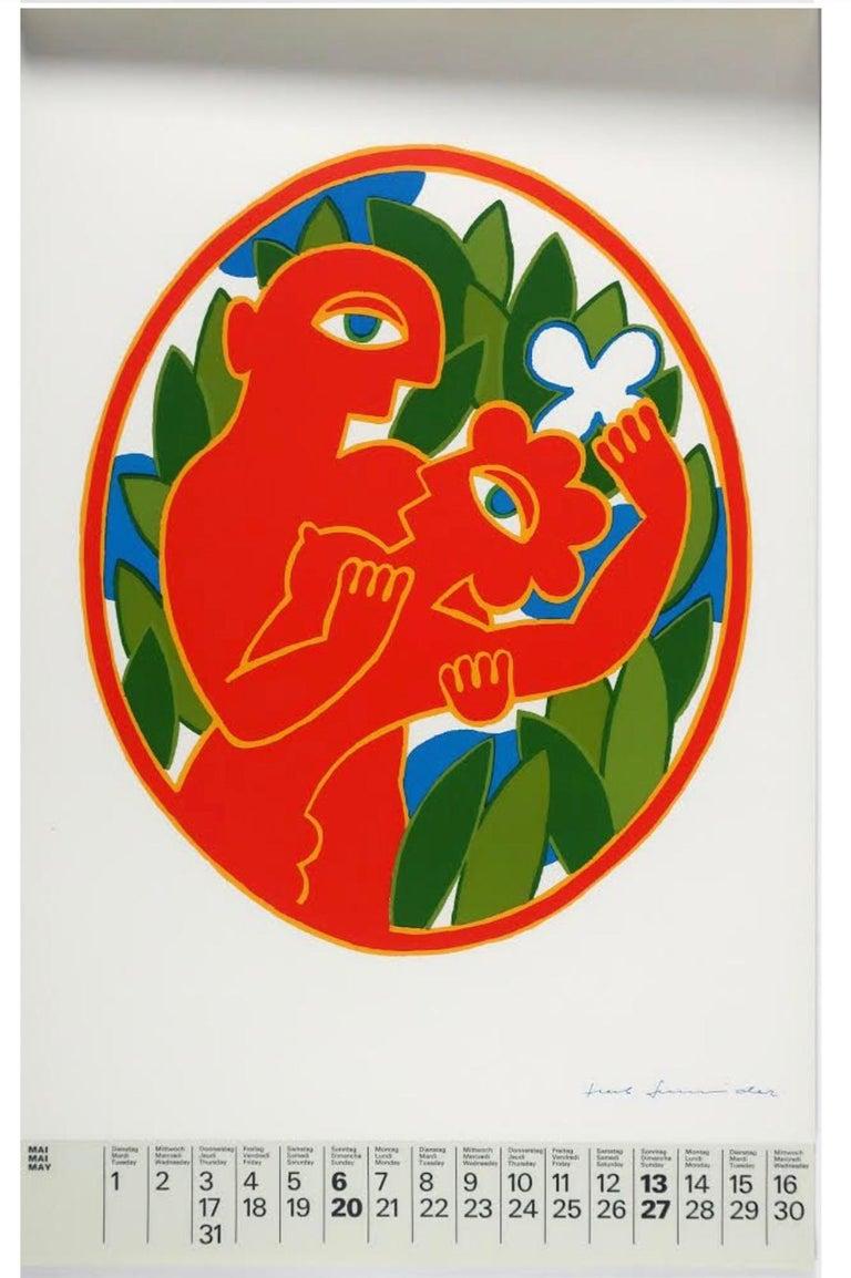 Mid-Century Modern Art '79 Calendar of Prints by HMK Fine Arts For Sale
