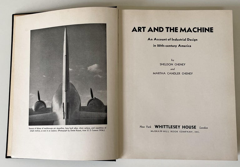 American Art and the Machine Book by Sheldon and Martha Cheney For Sale