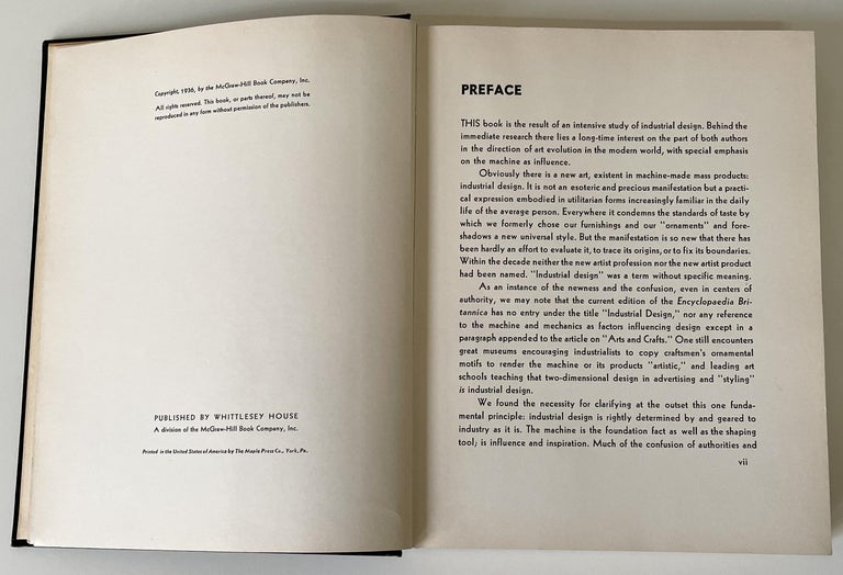 Art and the Machine Book by Sheldon and Martha Cheney In Good Condition For Sale In New York, NY