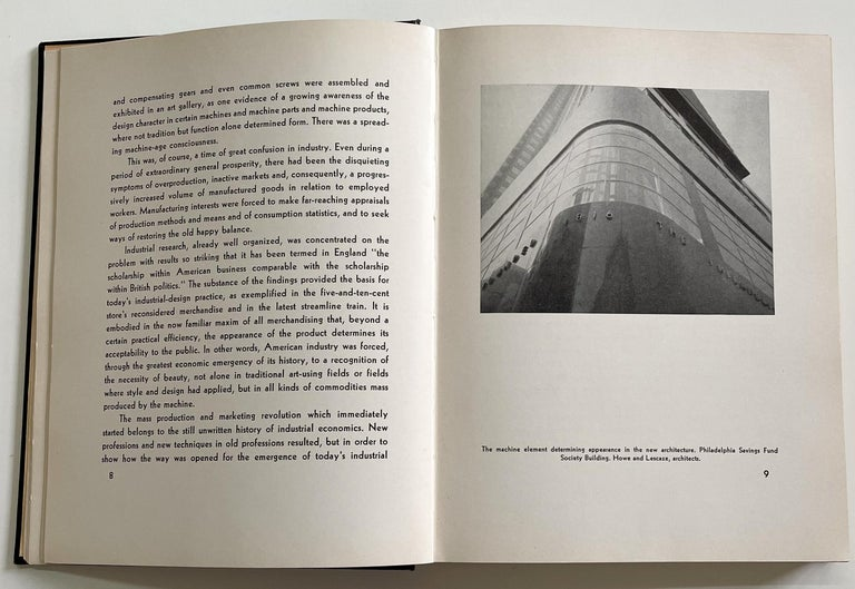 Mid-20th Century Art and the Machine Book by Sheldon and Martha Cheney For Sale