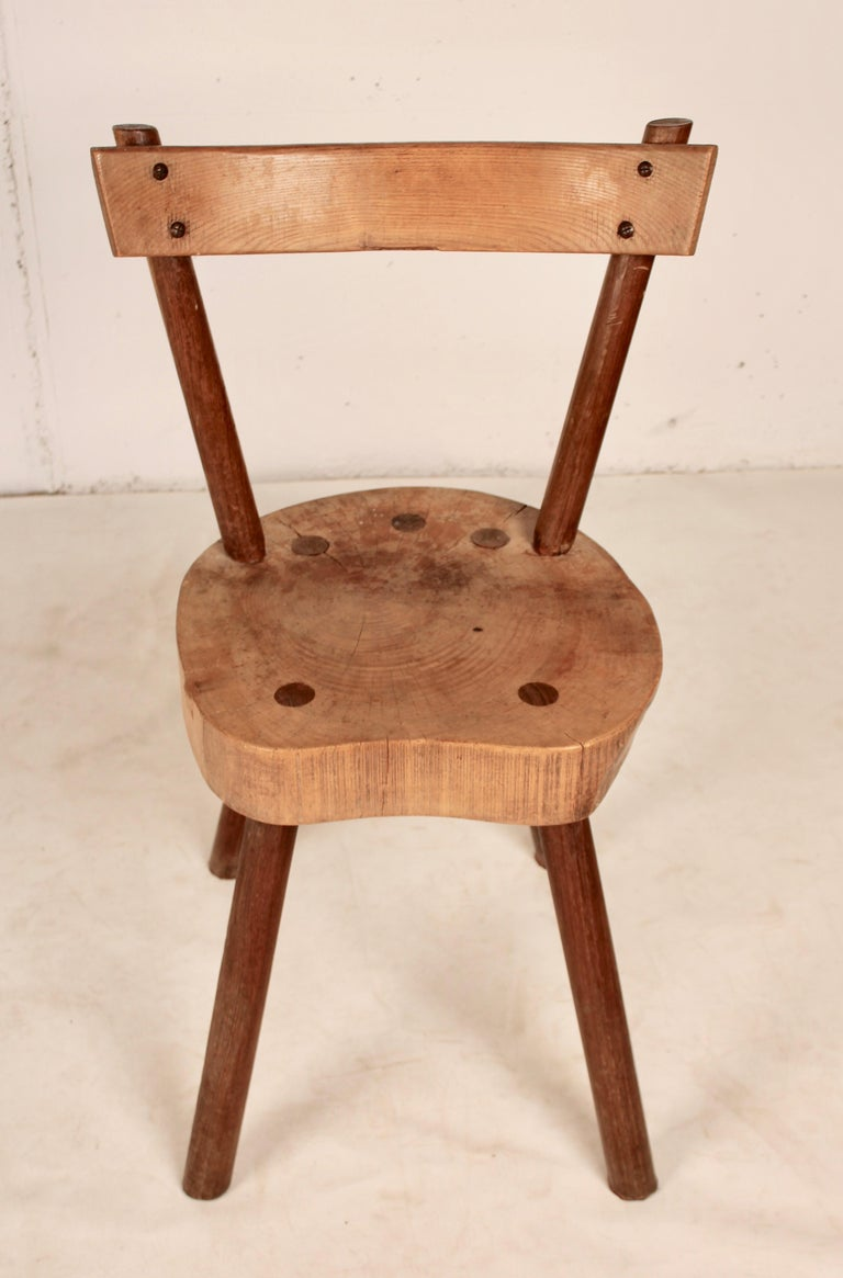 Arts & Crafts chairs from Aveyron For Sale 3