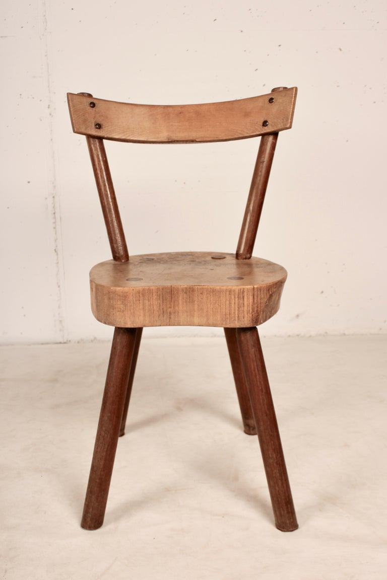 Arts & Crafts chairs from Aveyron For Sale 4