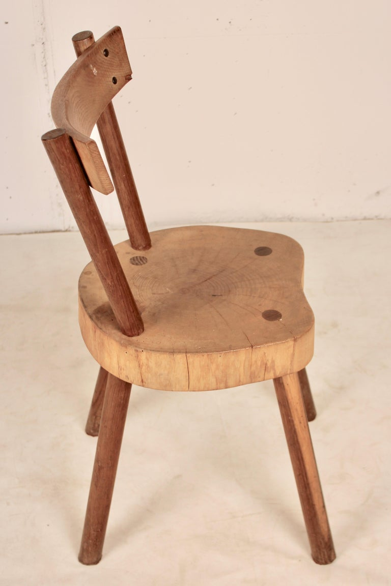 Arts & Crafts chairs from Aveyron For Sale 7