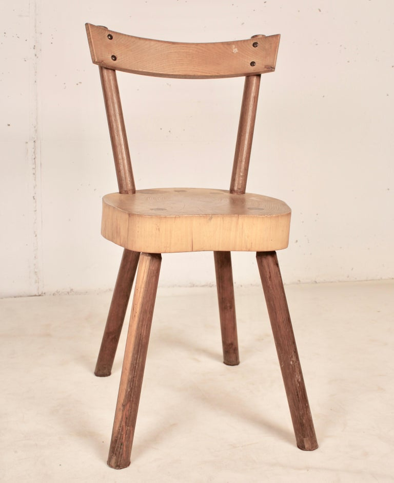 Arts & Crafts chairs from Aveyron For Sale 12