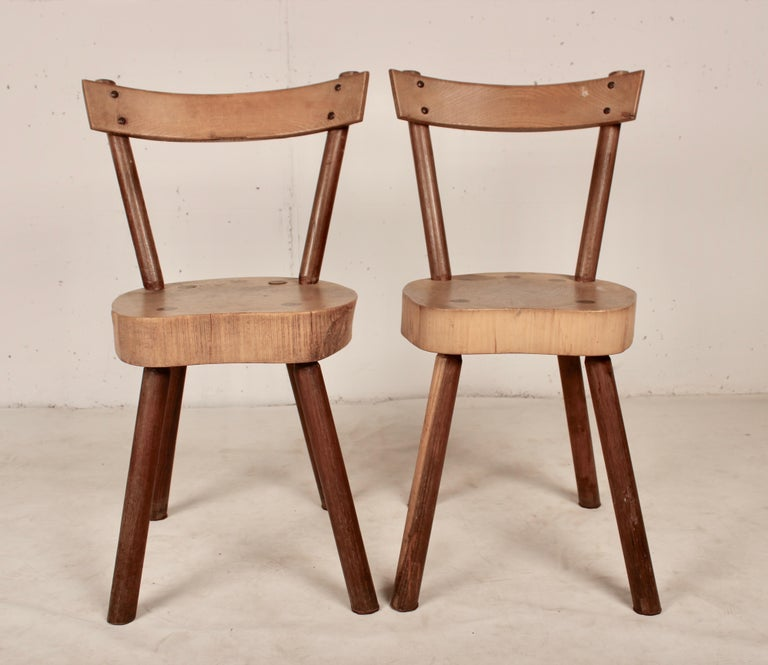 Arts and Crafts Arts & Crafts chairs from Aveyron For Sale