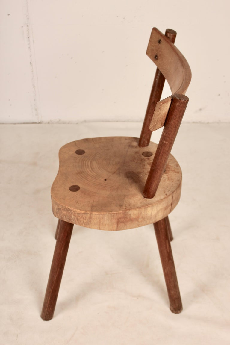 Arts & Crafts chairs from Aveyron In Good Condition For Sale In Santa Gertrudis, Baleares
