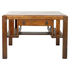 Art & Crafts Mission Oak American Desk