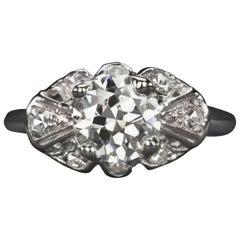 Art Deco 1.50 Carat Vintage Ring