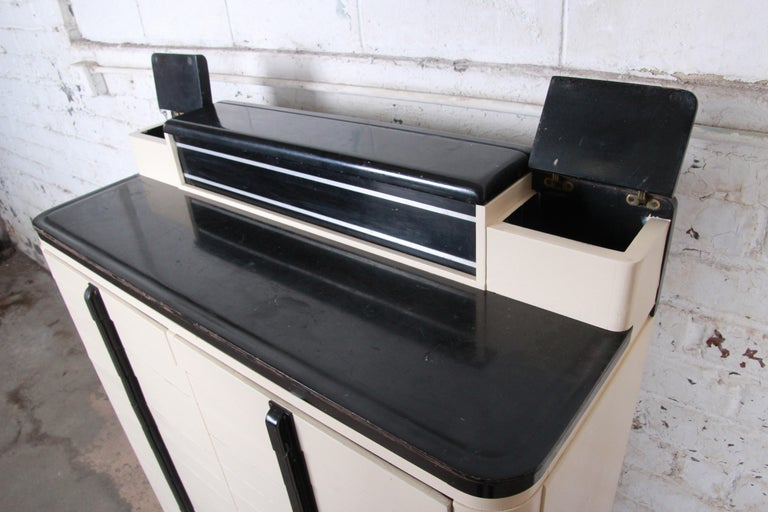 Art Deco 18-Drawer Dental Cabinet by American Cabinet Co., circa 1930s 3
