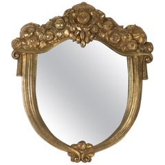 Art Deco 1925 Golden Mirror