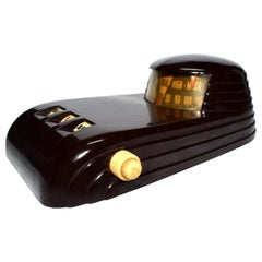 Art Deco 1930s Bakelite Streamline Combination Calendar