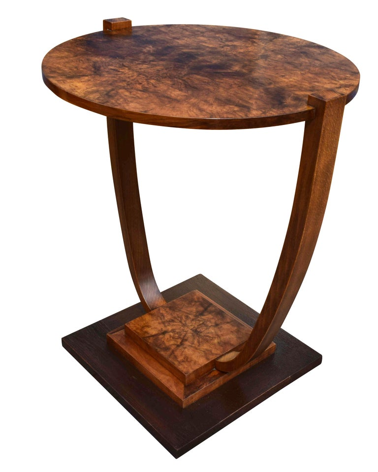 Art Deco 1930s French Occasional Table For Sale 5