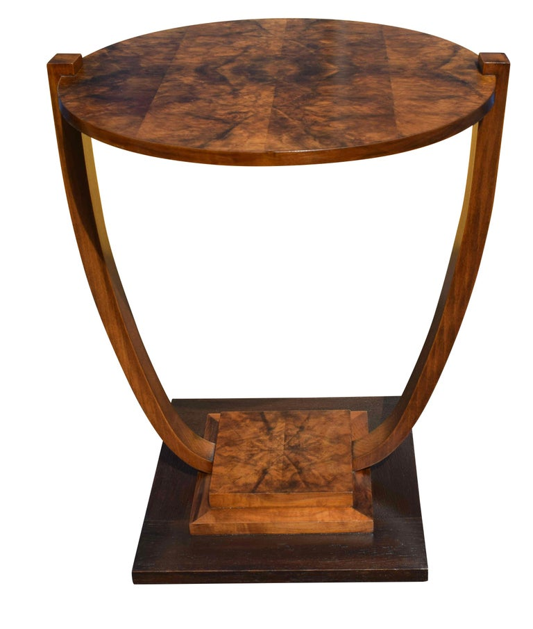 Art Deco 1930s French Occasional Table In Good Condition For Sale In Devon, England