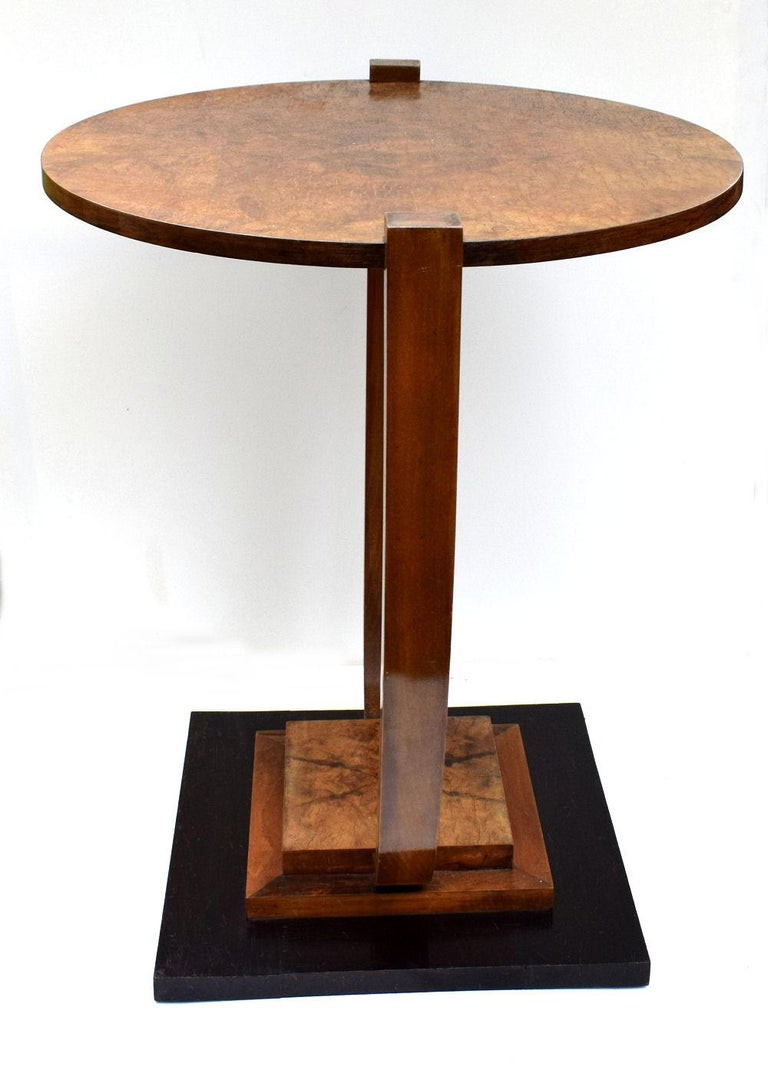 Art Deco 1930s French Occasional Table For Sale 1