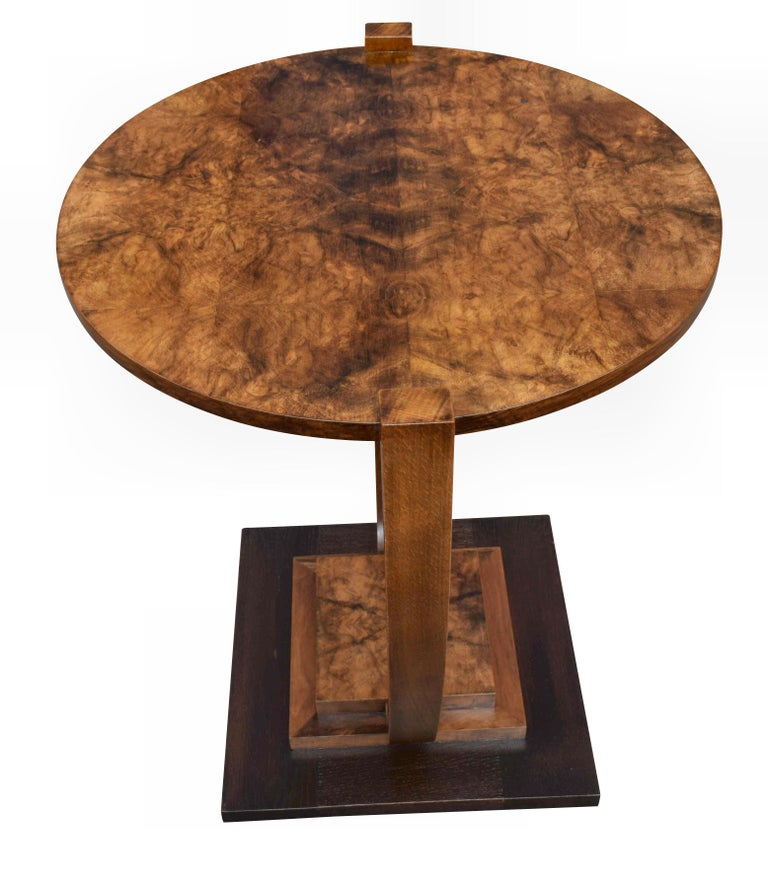 Art Deco 1930s French Occasional Table For Sale 2