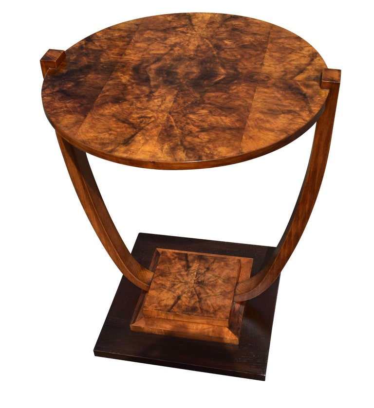 Art Deco 1930s French Occasional Table For Sale 3