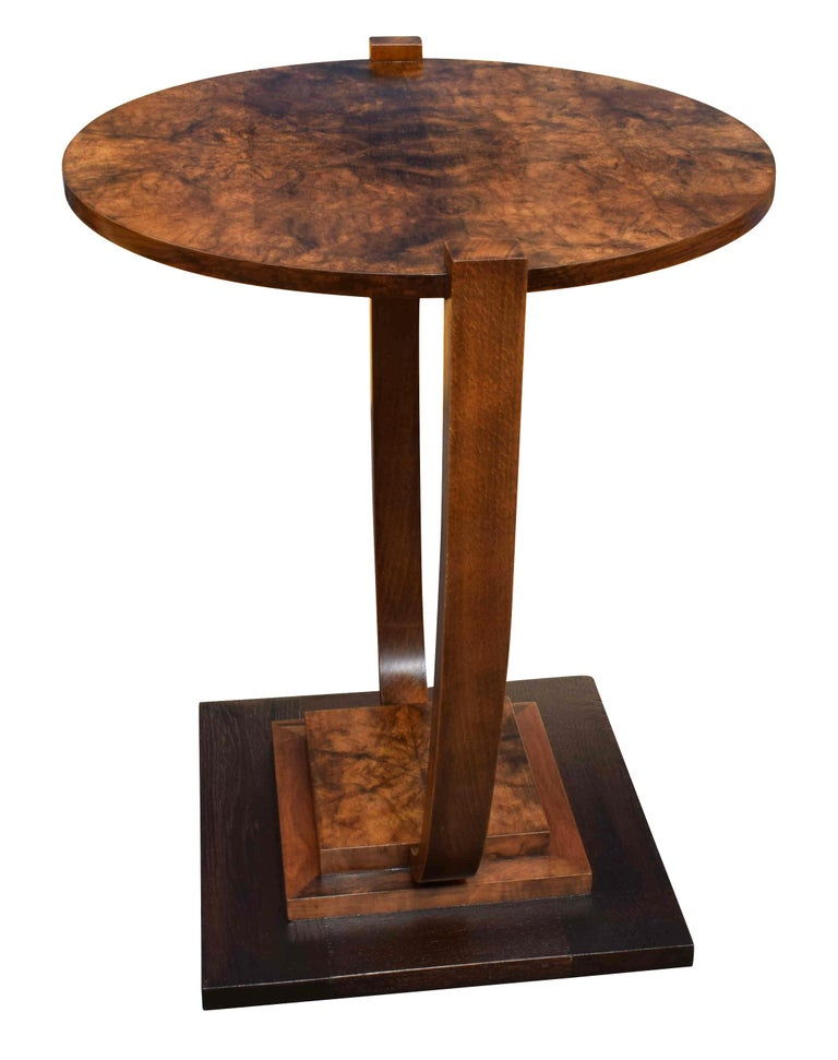 Art Deco 1930s French Occasional Table For Sale 4