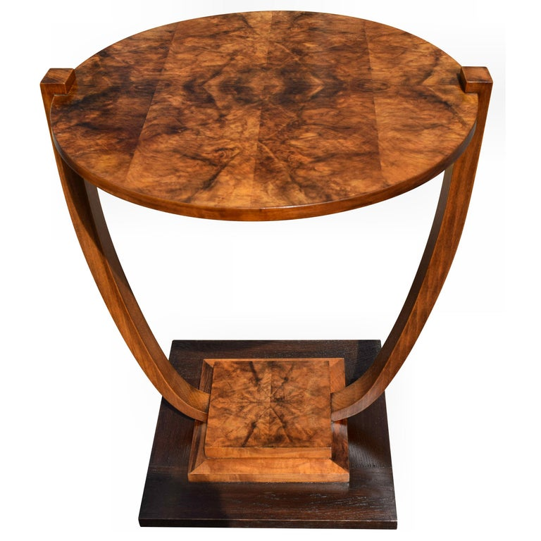 Art Deco 1930s French Occasional Table For Sale