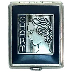 Art Deco 1930s Ladies Rouge Compact Called 'Charm'