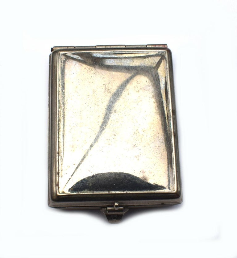 Art Deco 1930s Ladies Rouge Compact 'Charm' For Sale 2