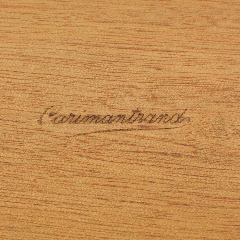 Art Deco 1930s Macassar Wood Chrome Box For Sale 4