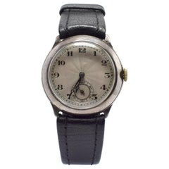 Art Deco 1930s Men's Manual Wristwatch