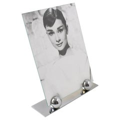 Art Deco 1930s Chrome Picture Frame