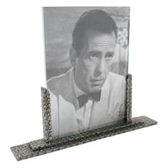 Art Deco 1930s Wrought Iron Picture Frame
